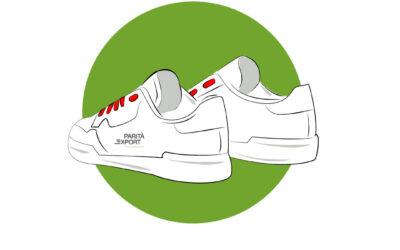 Certificazione e dichiarazione EAC per scarpe